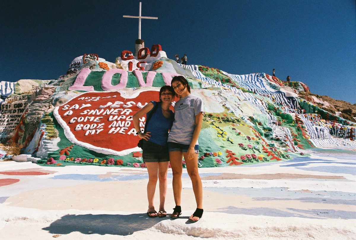 Journey to Salvation Mountain