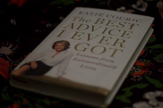 "Book: ""The Best Advice I Ever Got"""
