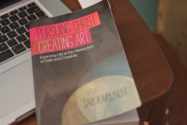 Book: Pursuing Christ. Creating Art.