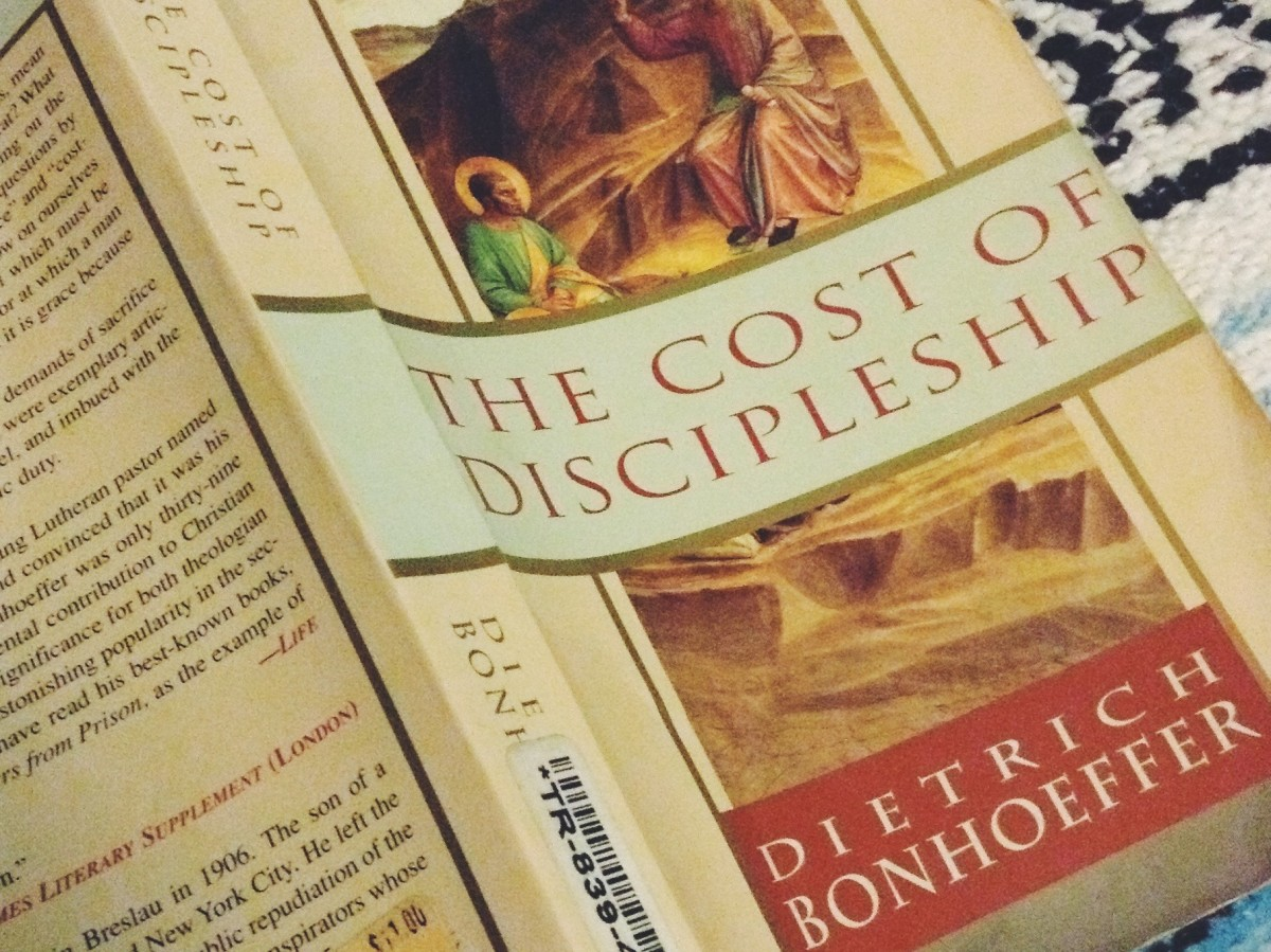 Book: The Cost of Discipleship
