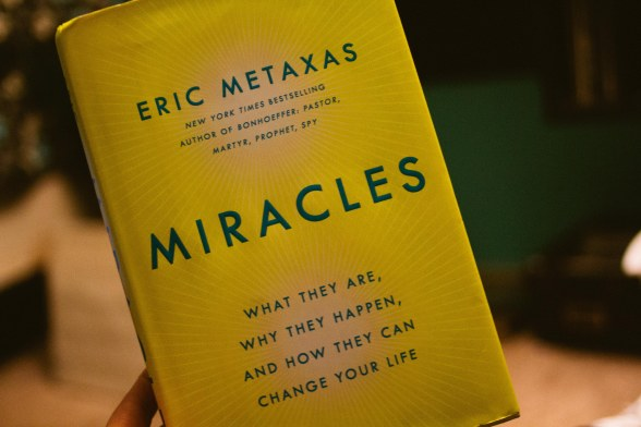 Book: Miracles by Eric Metaxas